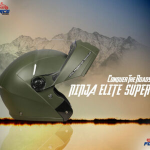 studds ninja elite super army green