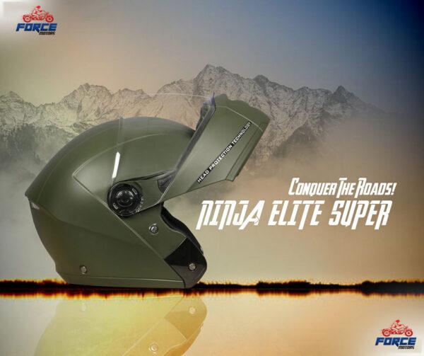 studds ninja elite super army green