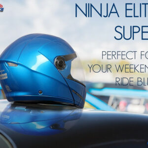 studds ninja elite super shine blue