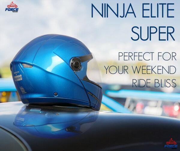 studds ninja elite super shine blue