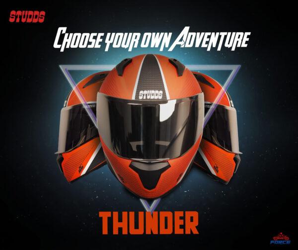 studds thunder red 2